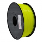 HIPS-Y-1.75-1.0 3D Printers Dedicated 1.75mm Filament HIPS Print Materials - Yellow (400M / 1.25kg)