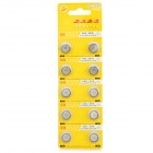 SunKing AG8 391A 1.55V Cell Button Batteries 10-Pack