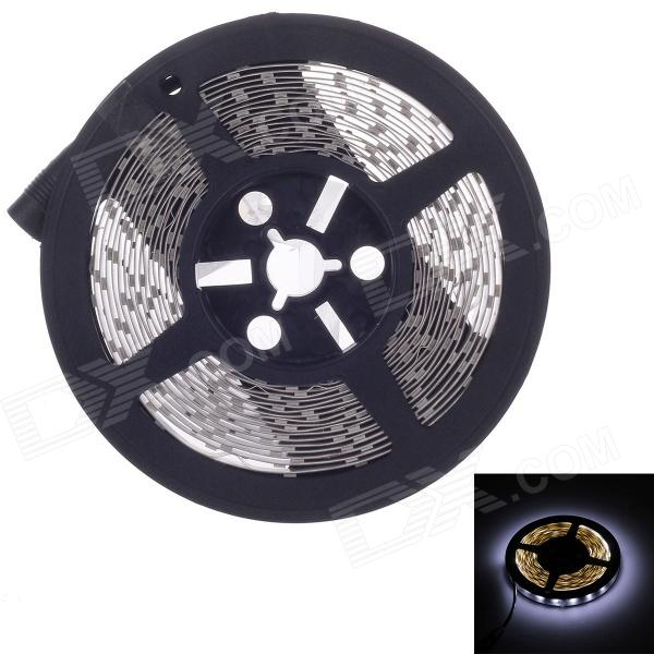 Waterproof 72W 8000lm 300-LED Cold White Light Decorative Strip (5m)