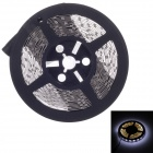 Waterproof 72W 8000lm 7000K 300-SMD 5630 White Light Decorative Light Strip - Black (5m / 12V)