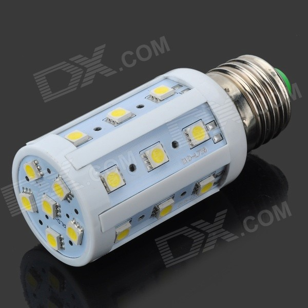 YN-YM-24P E27 4W 480LM 24-SMD 5050 LED White Light Corn Light (220V)