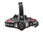 Dimmer S200 LED 110lm 3-Mode White Headlight - Black + Red (1 x 18650)
