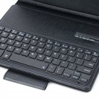 Bluetooth V3.0 64-clavier w / étui de protection pour IPAD AIR - noir