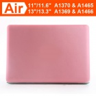 "ENKAY estuche protector duro mate para macbook air 11.6"" - rosa"