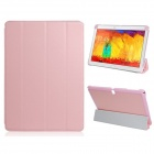 PU Leather Case Stand w/ Auto-Sleep Cover for Samsung Galaxy Note P600 / P601 2014 Edition - Pink