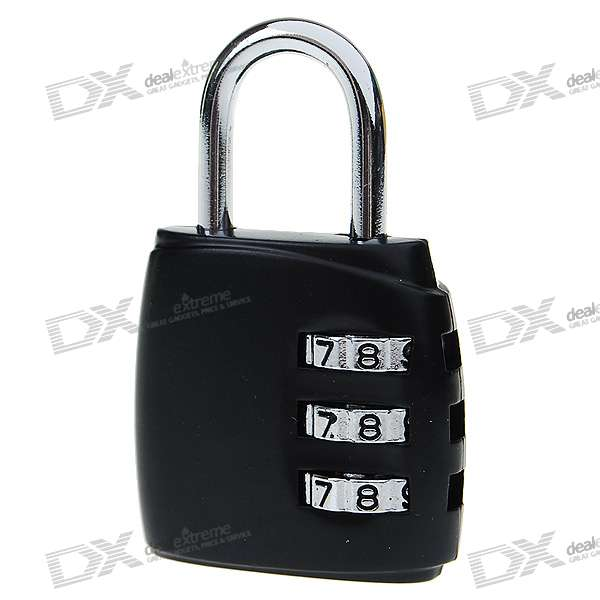Cute Resettable Combination Password Lock (Color Assorted)