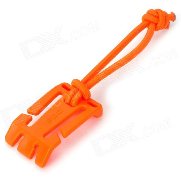 EDCGEAR Fixed Button w/ Flexible Rope - Orange