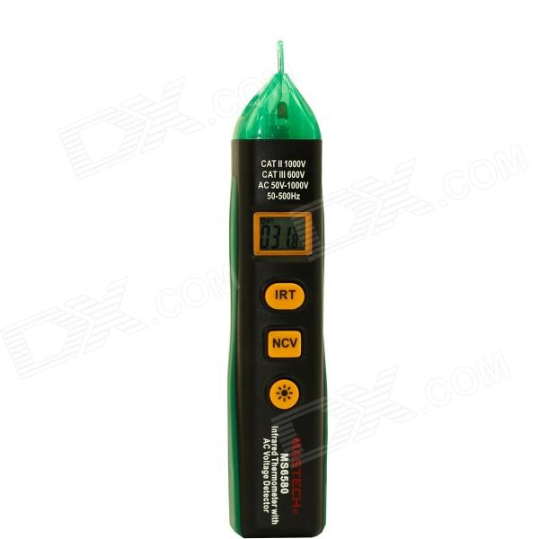 MASTECH MS6580 Multifunction Digital Infrared Thermometer IR Temperature Meter - Black + Green аудио аппаратуру в москве ms max
