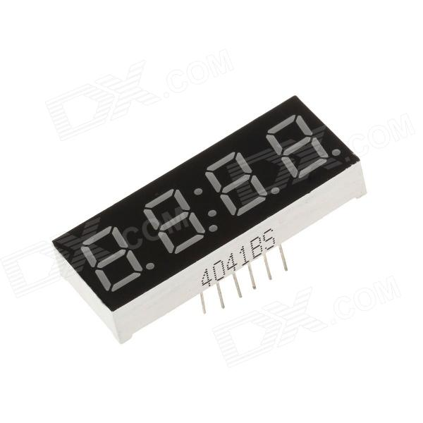 4041BS 1.7'' 4bit Common Anode Green LED Digital 7-Segment Display - Black + White (5PCS) 3 5 digit 7 segment lcd display module w backlit for arduino