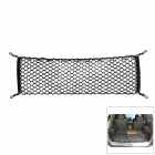 Convenient Storage Elastic Nylon Trunk Net Mesh for Car - Black