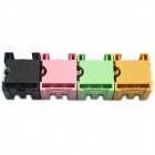 BONATECH Mini Case Parts / Components Box - Black + Pink + Green + Yellow (4 PCS)