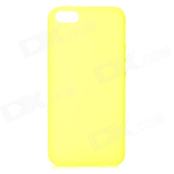 S-What Protective Frosted TPU Back Case for IPHONE 5 / 5S - Translucent Green постельное белье tango постельное белье page 1 5 спал href