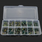 MaiTech 12 Kinds of Common Electrolytic Capacitor Set - Green (120 PCS)