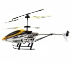 Shockproof 2-CH Huge R/C Helicopter w/ IR Remote Control - Yellow (6 x AA)