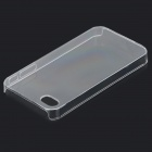 S-What Stylish ABS Back Case for IPHONE 4 / 4S - Transparent