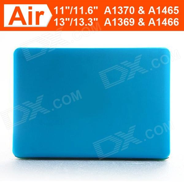 "Enkay protector Caso duro mate para Apple Macbook Air 11,6 ""- Azul Claro"