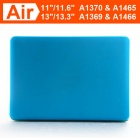 "ENKAY Protective Matte Hard Case for Apple Macbook Air 11.6"" - Light Blue"