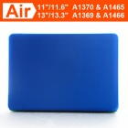 "ENKAY Matte Hard Protective Case for Macbook Air 11.6"" - Dark Blue"