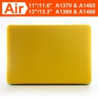 "ENKAY Protective Matte Hard Case for Apple Macbook Air 11.6"" - Yellow"