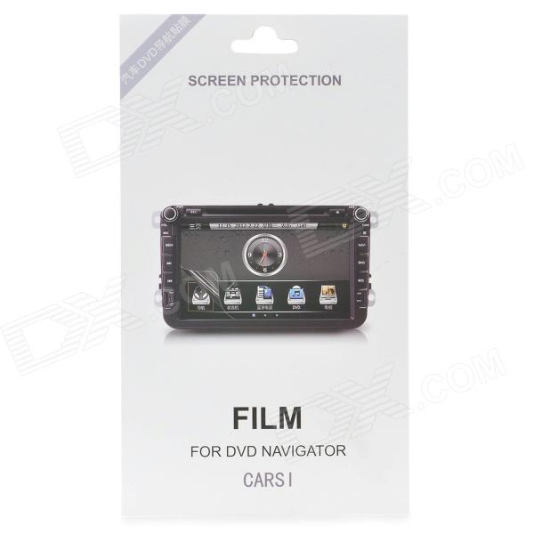 Protective DVD Navigator Screen Protector for VW New Bora / Sagitar / Magotan / Touran - Transparent мужская футболка для велоспорта 500 sub vertical