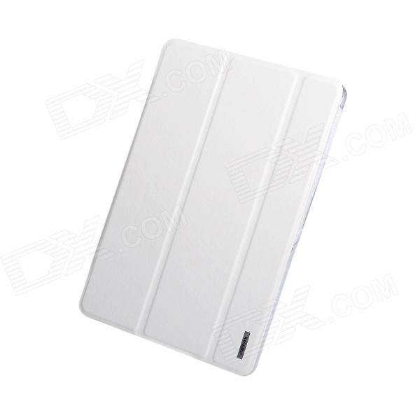 Remax Protective PU Leather + PC Case w/ Stand for Samsung Galaxy Tab Pro 10.1 T520 - White