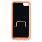 Forkullet stilig Maya mønster bambus tilbake Case for IPHONE 5C - gul + Brown