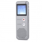 "Thchi YMX-R39 1.6"" LCD Screen Rechargeable Digital Voice Recorder w/ MP3 Player - White (8GB)"