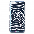 UNNAME ONE-003 Stylish Spider Web Pattern PC Back Case for IPHONE 5C - White + Black