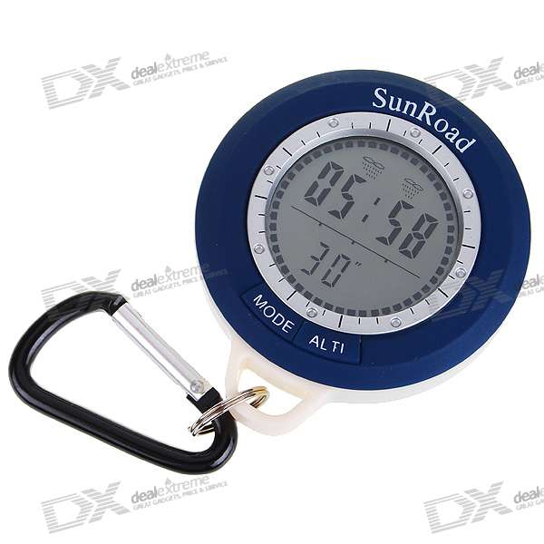 Digital Compass Altimeter + Barometer + Thermometer (1*CR2032)