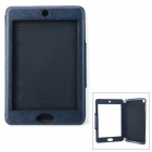 Protective Flip-open TPU + PU Case w/ Touch Screen for IPAD MINI / RETINA IPAD MINI - Black