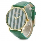 Zinc Alloy Casing Quartz Analog Wrist Watch - Jade (1 x 377 Battery)