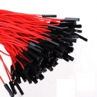 ZnDiy-BRY 1-Pin Male to Female DuPont Wire Connector Cables for Arduino - Red (20cm / 200 PCS)