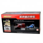 HUANQI ABS + Rubber 2-CH F1 1:14 R/C Sports Car w/ Remote Control - Red + Black
