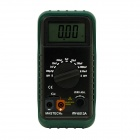 MASTECH MY6013A Digital Capacitance Meter - Black + Army Green (0.1pF~20000uF / 1 x 6F22)