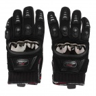 MAD-01S Professional Full-Finger Racing Gloves - Black (Size XL)