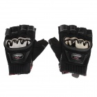 Mad bike MAD-04S Non-slip Body Building Sports Cyling Half Finger Gloves - Black (Size M)