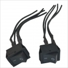 12V~250V 16A~20A 4-Wire Switch for Car - Black