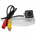 LsqSTAR ST-928 CCD Wide Angle Car Rearview Camera for MAZDA 2 / MAZDA 3 - Black