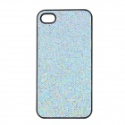 SFLP-122 Shimmering Power PC Protective Back Case for IPHONE 4 / 4S - Silver