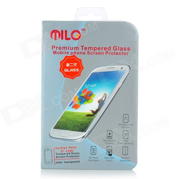 Milo Protective Clear Tempered Glass Screen Protector for Sony L39h Xperi Z1 - Transparent защитные стекла liberty project защитное стекло lp для nokia 630 tempered glass 0 33 мм 9h ударопрочное