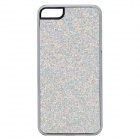SFLP-123 Shimmering Power PC Protective Back Case for IPHONE 5 / 5S - Silver
