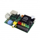 Raspberry Pi Project Board + MS100A Raspberry PI BerryClip 6-LED Add-on Board Python Learning Board