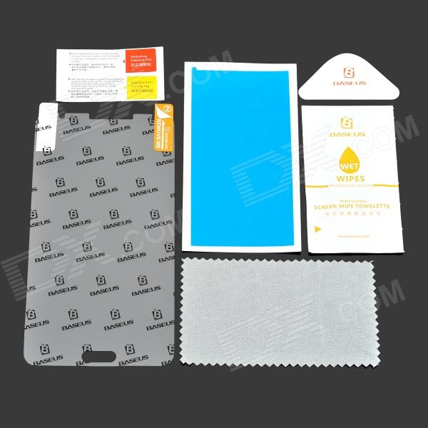 Baseus Matte Protective Screen Protector Set for Samsung Note 3 - Transparent protective matte frosted screen protector film guard for nokia lumia 900 transparent