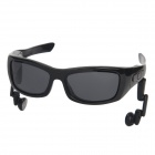 BS40 Bluetooth V4.0 Stereo Headset Sunglasses w/ Microphone - Black