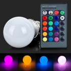 ShengDaGuang E27 5W 200lm 1-LED RGB Bulb - White + Silver Grey + Multicolored (AC 85~265V)