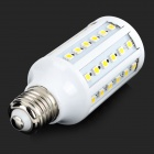 E27 10W 350lm 3500K 60-5050 SMD LED Lampe blanche chaude-Blanc (AC 220 ~ 240V)