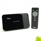 Jesurun H86 Quad-Core Android 4.2.2 Google TV Player w/ 2GB RAM, 8GB ROM, Bluetooth, EU Plug - Black