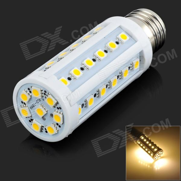 E27 8W 120lm 3500K 44-5050 SMD LED Lampe blanche chaude - Blanc (AC 220 ~ 240V)