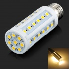 E27 8W 120lm 3500K 44-5050 SMD LED Warm White Lamp - White (AC 220~240V)