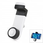 JHD-26HD67 ABS Universal Adjustable Car Air Vent Mount Holder for Cellphones - White + Black
